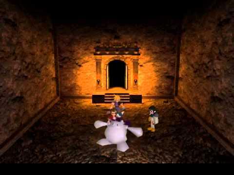 Final Fantasy VII - Cait Sith Sacrifices Himself.. Kinda