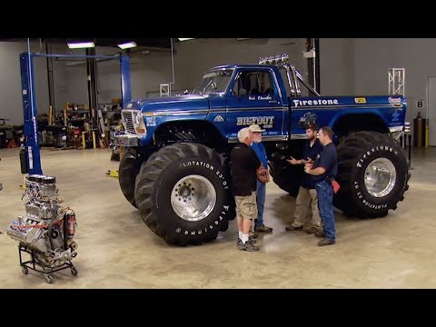 The Original BigFoot Engine Build Part 1- Engine Power Season 2, Episode 4