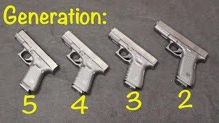 Glock 19 Gen 5 vs Gen 4 vs Gen 3