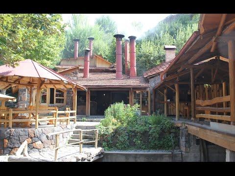 Cherkezi Dzor  Fish Valley in Gyumri , Рыбное ущелье в Гюмри , Ձկան ռեստորան Չերքեզի ձոր