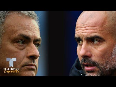 Mourinho vs. Guardiola 4.0: la batalla continúa en la Liga Premier | Telemundo Deportes