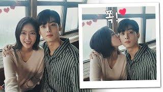 (커플셀카) 차은우(Cha eun woo)를 위한 임수향(Lim soo hyang)의 생일선물 ☞ 기습 뽀뽀♥ 내 아이디는 강남미인(Gangnam Beauty) 16회
