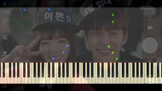Kim Yeonji  김연지  - Words Of My Heart  Im Not A Robot Ost Part 3  | Piano Tutori