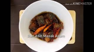 Bahan Ikan Asin, jenis apa aja, biasanya telang atau tenggiri Bawàng merah 1 siung Bawang putih 1 biji Cabe, bisa cabe rawit. Biasanya cabe merah besar ...