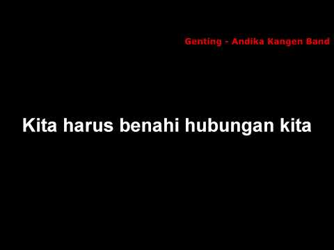 Andika Kangen Band   Genting video lirik