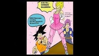 Goku funny comics – vegeta – gohan – dragon ball supper funny – body transformation – tg tf