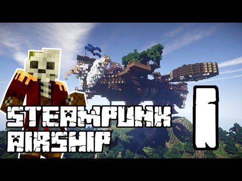 Epic Steampunk Airship Minecraft Speedbuild #1