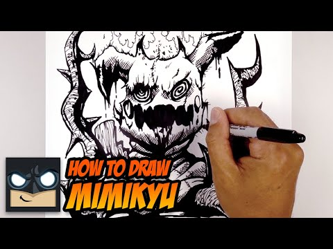 How To Draw Mimikyu | Epic Pokemon Tutorial
