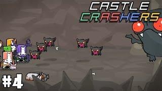 Castle Crashers Кооператив #4 - Летучий мышь