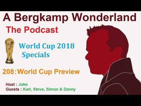 A Bergkamp Wonderland : 244 - World Cup Preview
