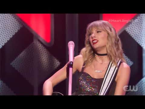 Taylor Swift - Welcome To New York (Acoustic) - Live At The Z100 IHeartRadio Jingle Bell Ball 2019
