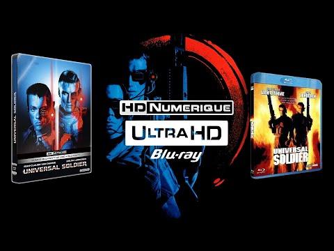 Universal Soldier : Comparatif 4K Ultra HD Vs Blu-ray