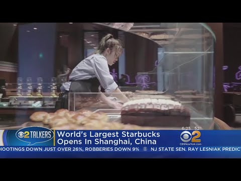 World's Largest Starbucks Opens In Shanghai, China