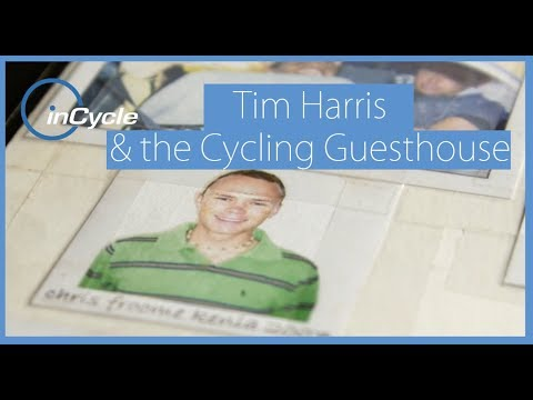 Tim Harris and the Cycling Guesthouse