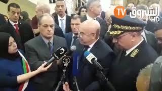 وزير الداخلية  صلاح الدين دحمون ..