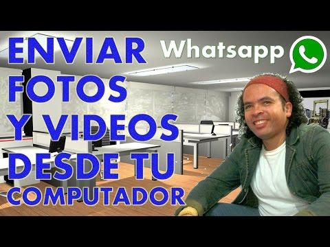 Whatsapp: Como enviar fotos y videos desde tu computador