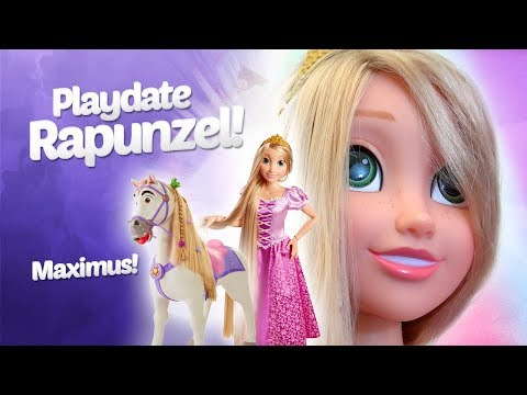 Playtime Gets the Royal Treatment With Playdate Rapunzel and Maximus! | A Toy Insider Play by Play