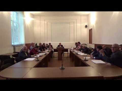 Արթիկի ավագանու արտահերթ նիստ 10.10.2019թ