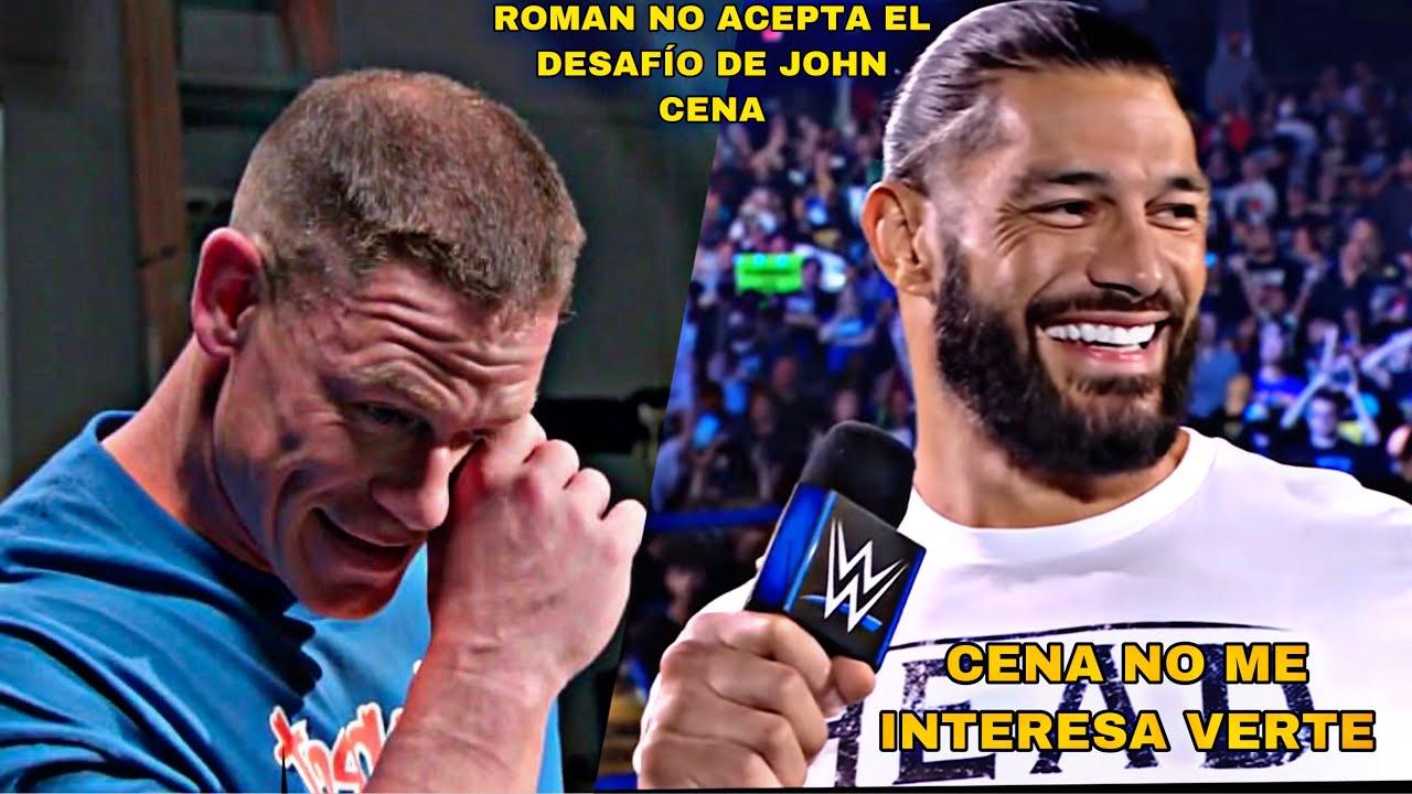 La Verdad por la que Roman Reigns NO ACEPTO el Desafio de John Cena para Summerslam 2021