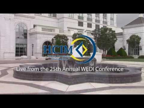 Dr. Bill Bysinger Introduces HCIM's Products and Services at the 2016 WEDI Conference