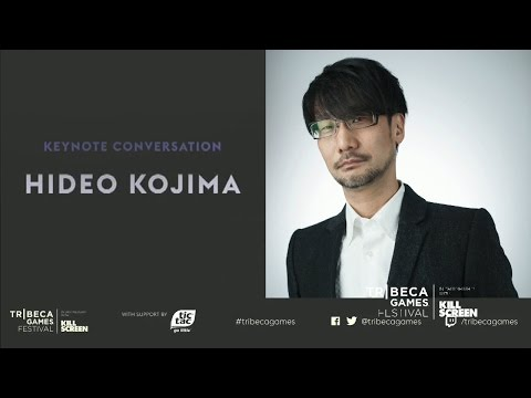 Hideo Kojima - Tribeca Games Festival Keynote with Geoff Keighley