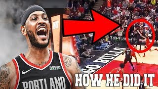 Carmelo Anthony COMPLETELY CHANGED his game AND ITS WORKING!
