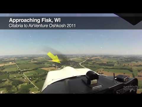 AirVenture Oshkosh Citabria Approach & Landing (FISK Arrival)