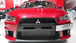 2014 Mitsubishi Lancer Evolution GSR Final Edition 4x4 - Exterior a...