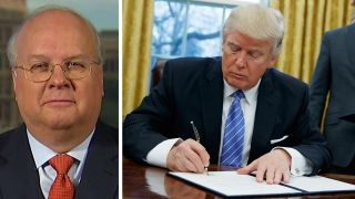 Karl Rove grades day one of the Trump White House
