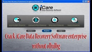 Crack iCare Data Recovery Software enterprise without ollydbg