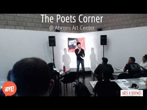 Oye Group Presents - The Poets Corner