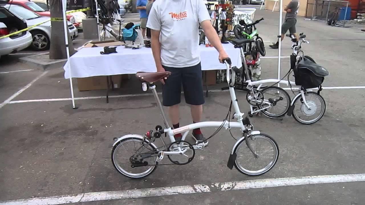 Brompton DemonstratorTitanium 2speed Folding Bike