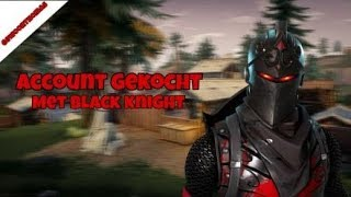 Fortnite Account gekauft OG Black Knight verschenken kostenlose Konto!