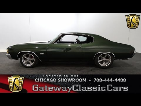 1971 Chevrolet Chevelle Gateway Classic Cars Chicago #1190