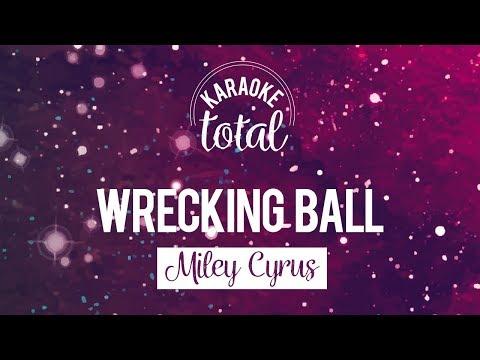 Wrecking Ball - Miley Cyrus - Karaoke con Coros