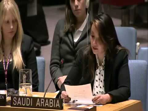 Saudis investigate UN envoy for speaking without veil (condemning Israel on women's rights)
