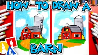 How To Draw A Barn (farm)