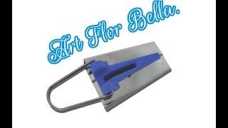 Como fazer um fazedor de viés caseiro Art Flor Bella
