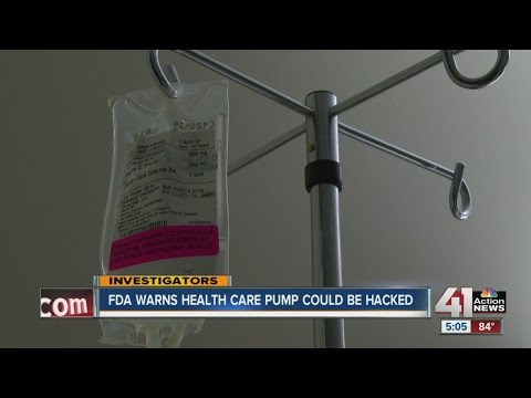 FDA warns common medical device could be hacked