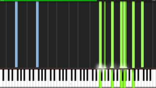 theme of sss angel beats piano tutorial synthesia theishter