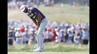 2018 U.S Open Golf Round 3 Highlights - Four tied for lead