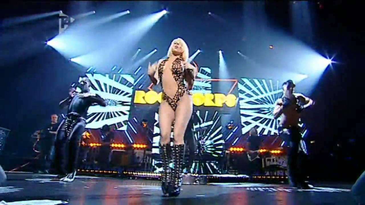 Lady gaga poker face live orange rockcorps