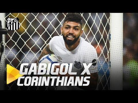 TODOS OS GOLS DE GABIGOL CONTRA O CORINTHIANS