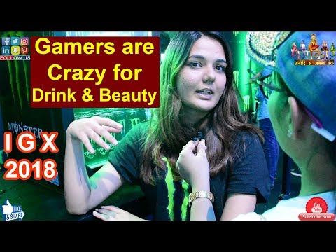 2nd Day Public Response | Gamers are Crazy for Energy Drink & Beauty | IGX : Indian Gaming Expo #NGW