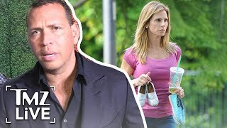 A-Rod In Spousal Support War With Ex | TMZ Live
