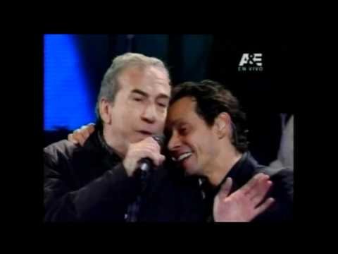 Marc Anthony con José Luis Perales - Viña del Mar 2012 Videos De Viajes