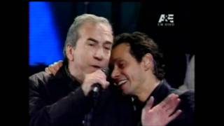 marc anthony con jose luis perales   vi  a del mar 2012