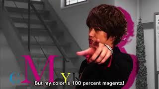 It's not pink it's magenta