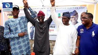 Lagos Governorship Race: Femi Hamzat Steps Down For Sanwo-Olu