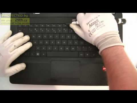 How To Replace Or Remove Keyboard On HP COMPAQ CQ56, Replacement Keyboard